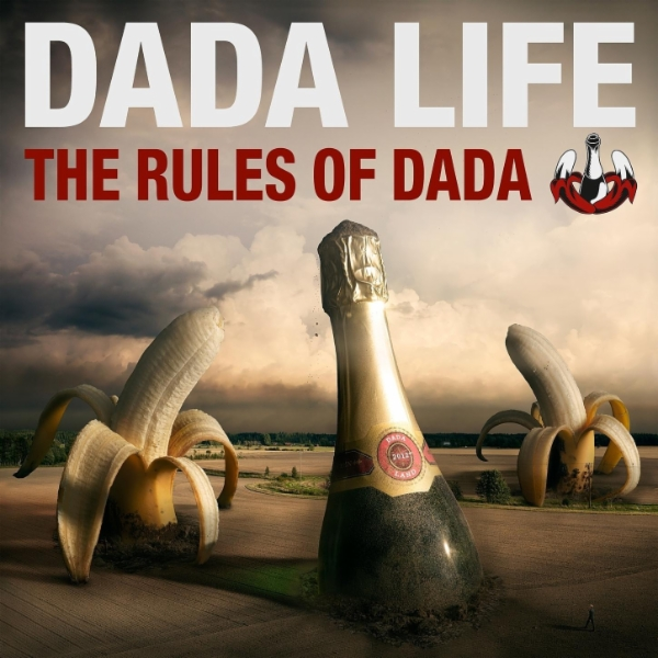 Dada Life - Rolling Stones T-Shirt (Remix-pack)