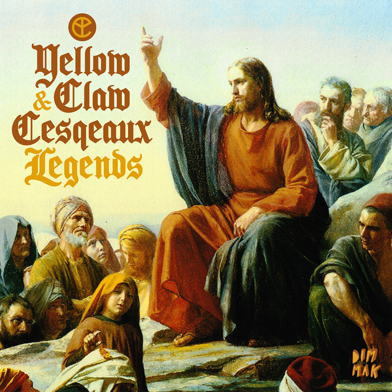 Yellow Claw & Cesqeaux ft. Kalibwoy - Legends (Remix-pack)